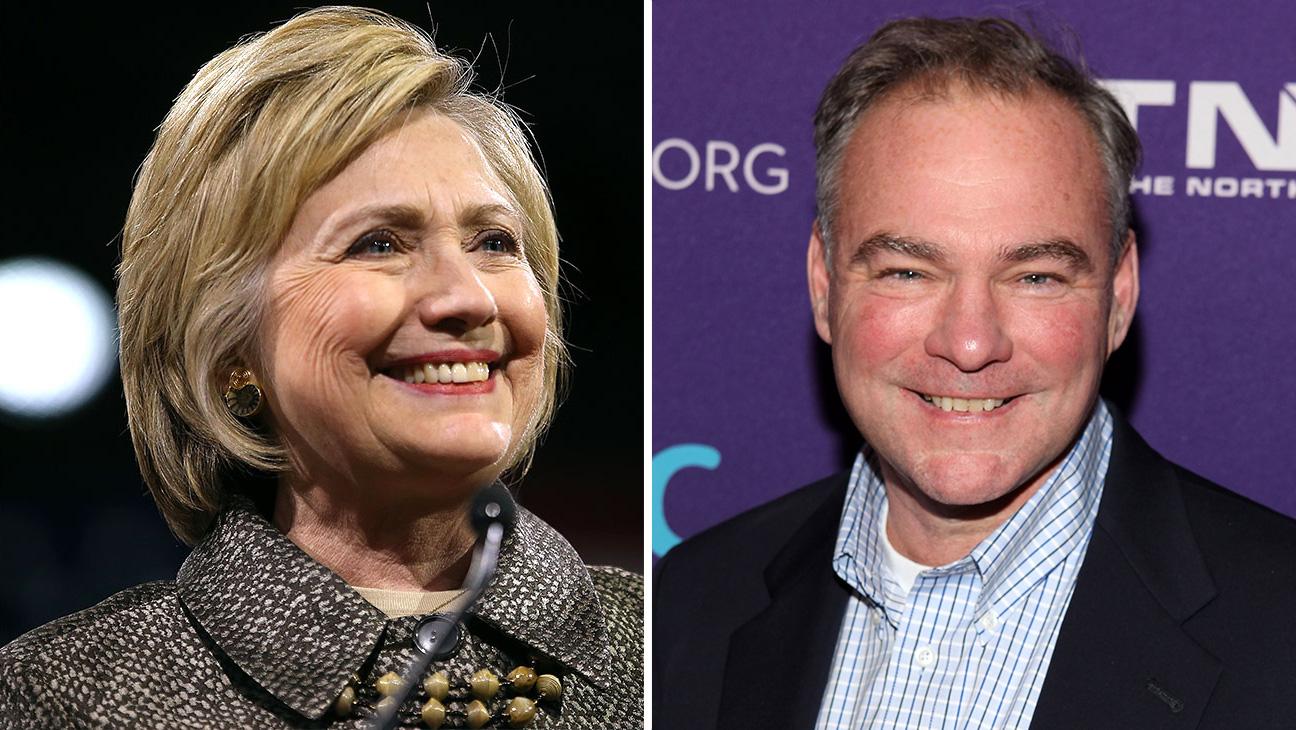 Hillary Clinton Tim Kaine Split - H 2016