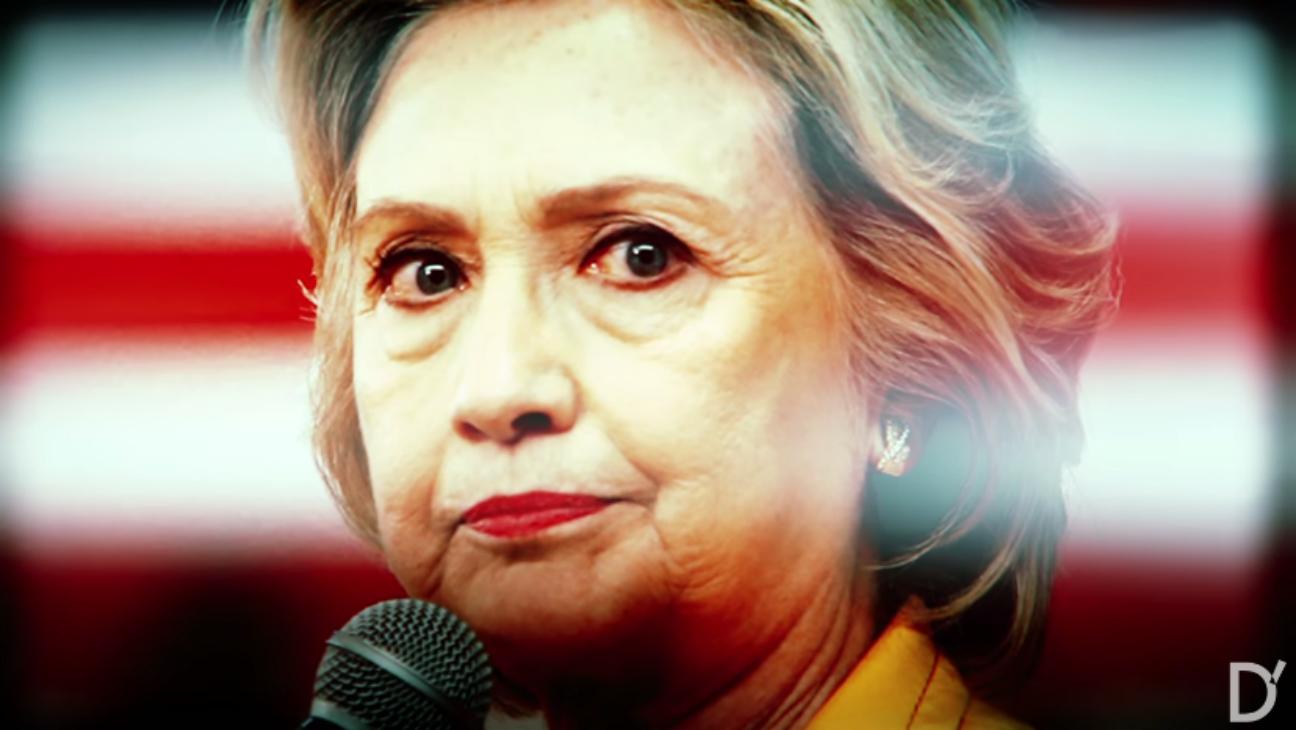 Hillary's America trailer still - H 2016