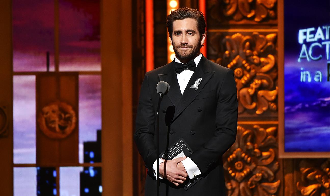 Jake Gyllenhaal Tonys Getty H 2016
