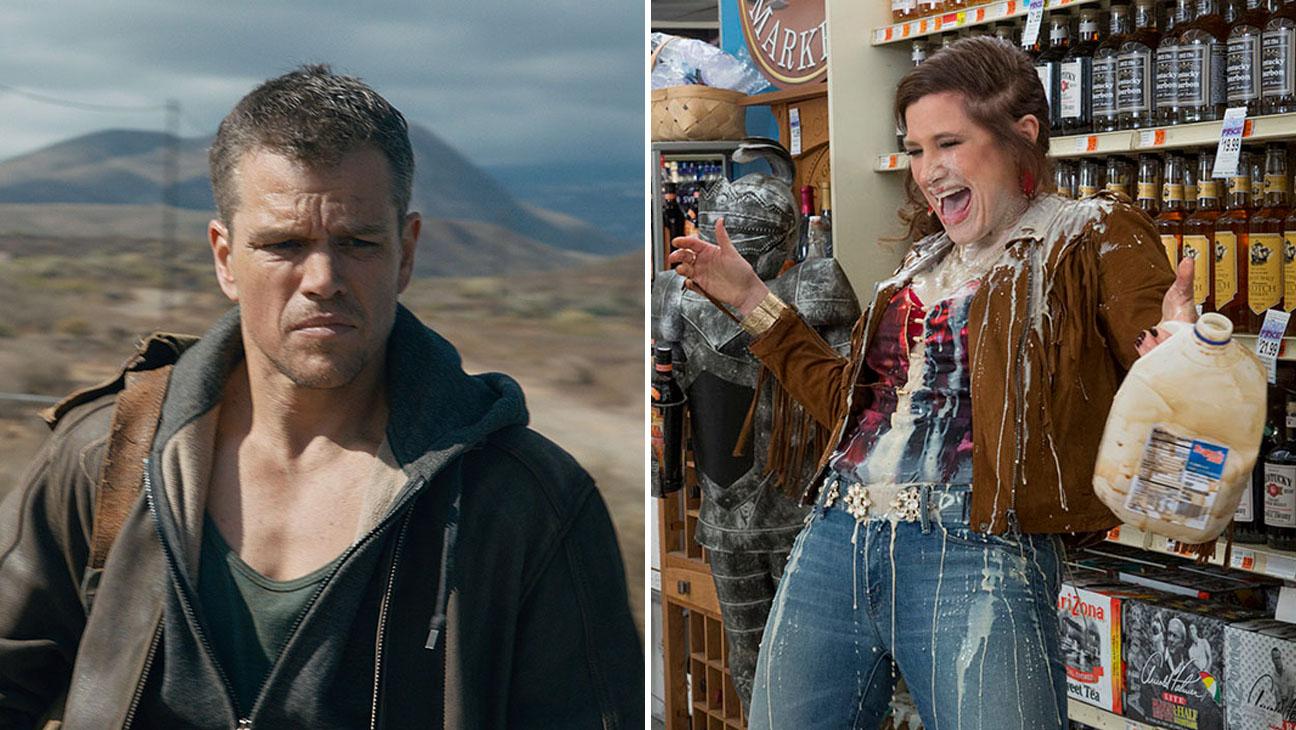 Jason Bourne Bad Moms Split H 2016