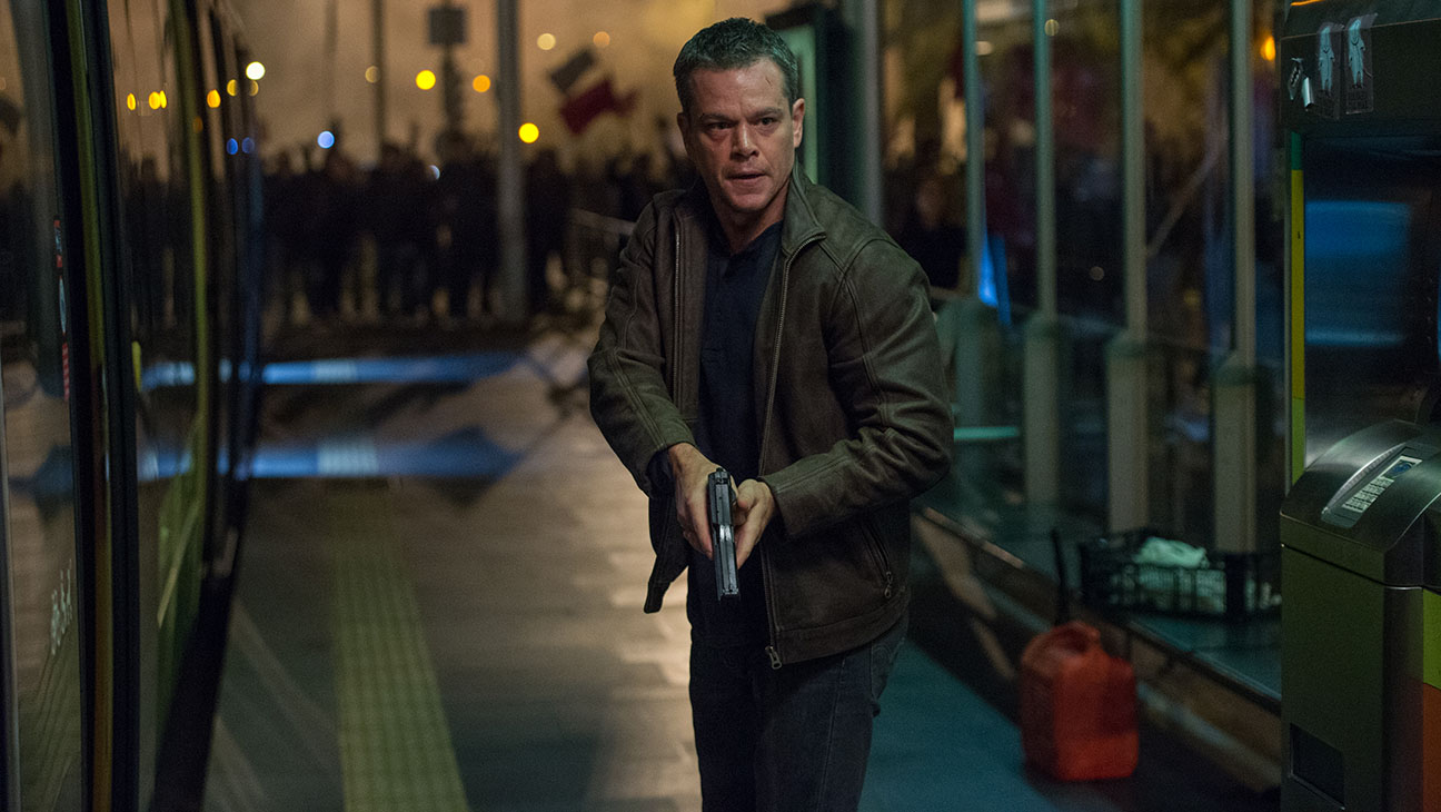 Jason Bourne Matt Damon Still 3 H 2016