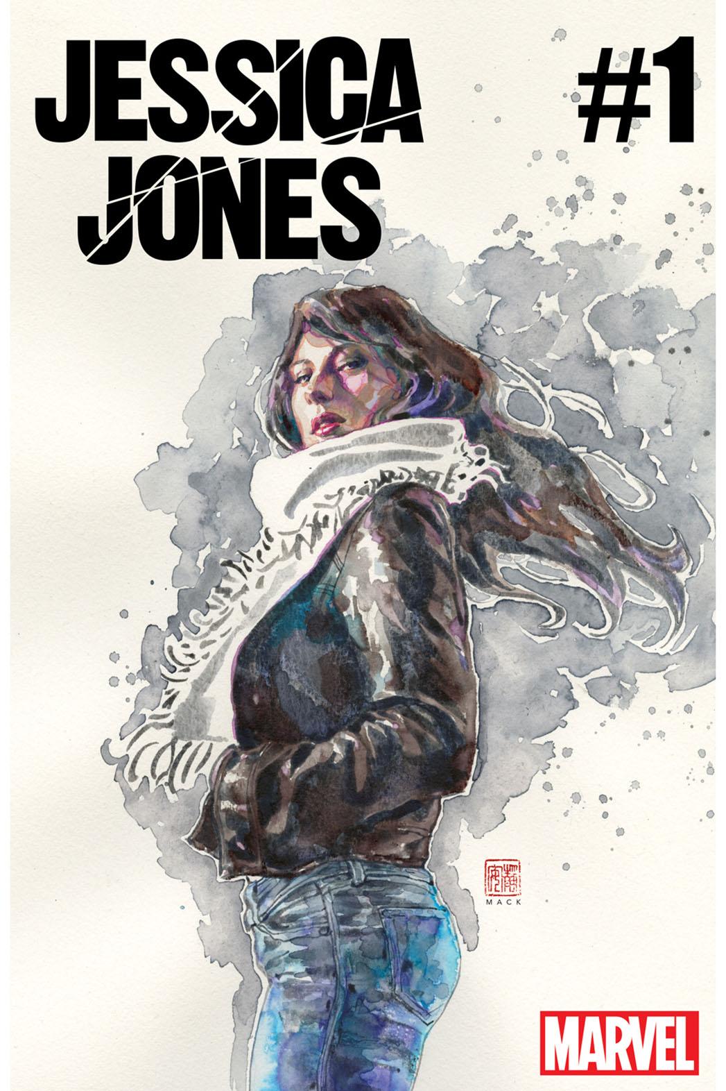 Jessica Jones #1 Cover - Publicity - P 2016