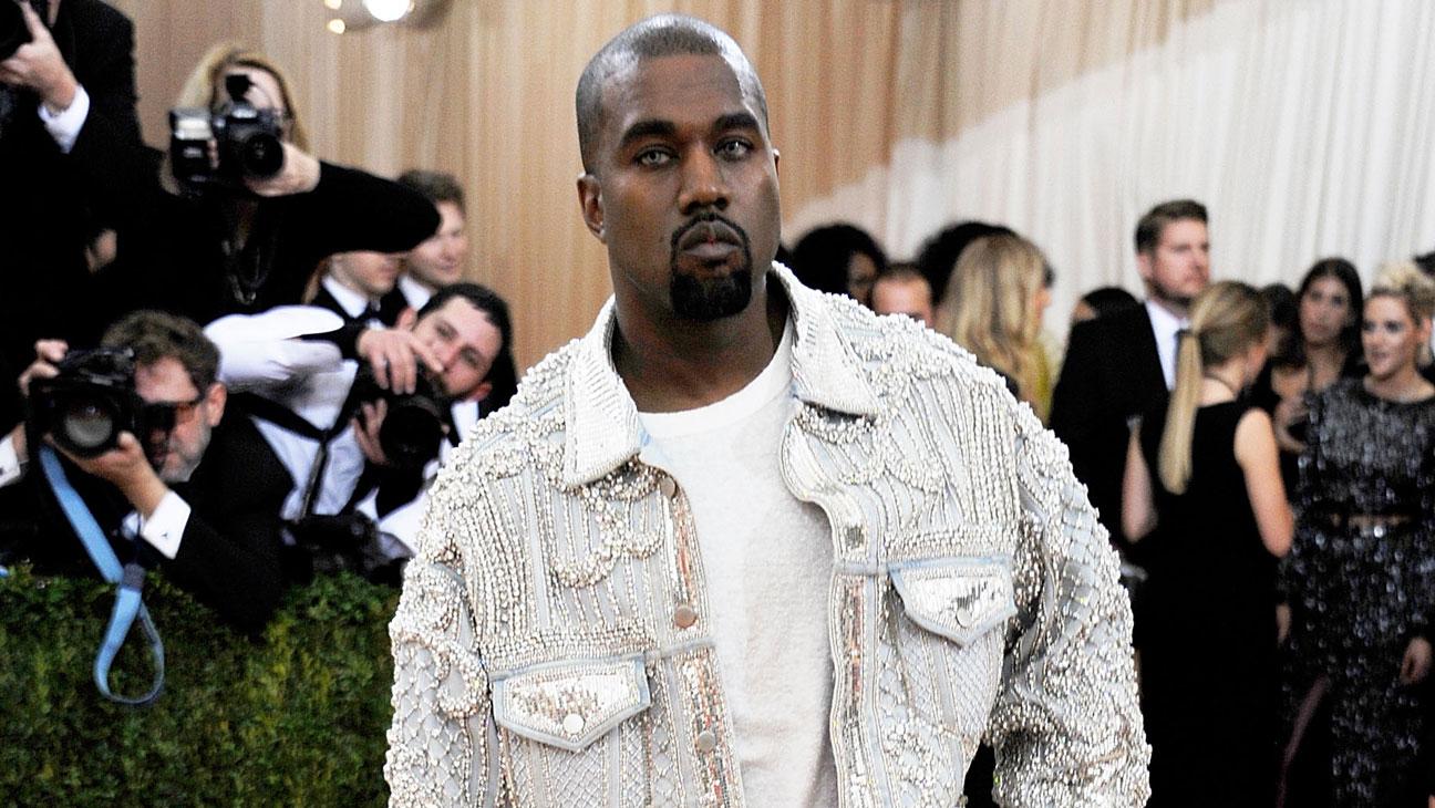 Kanye West Met Gala Balmain - Getty - H 2016