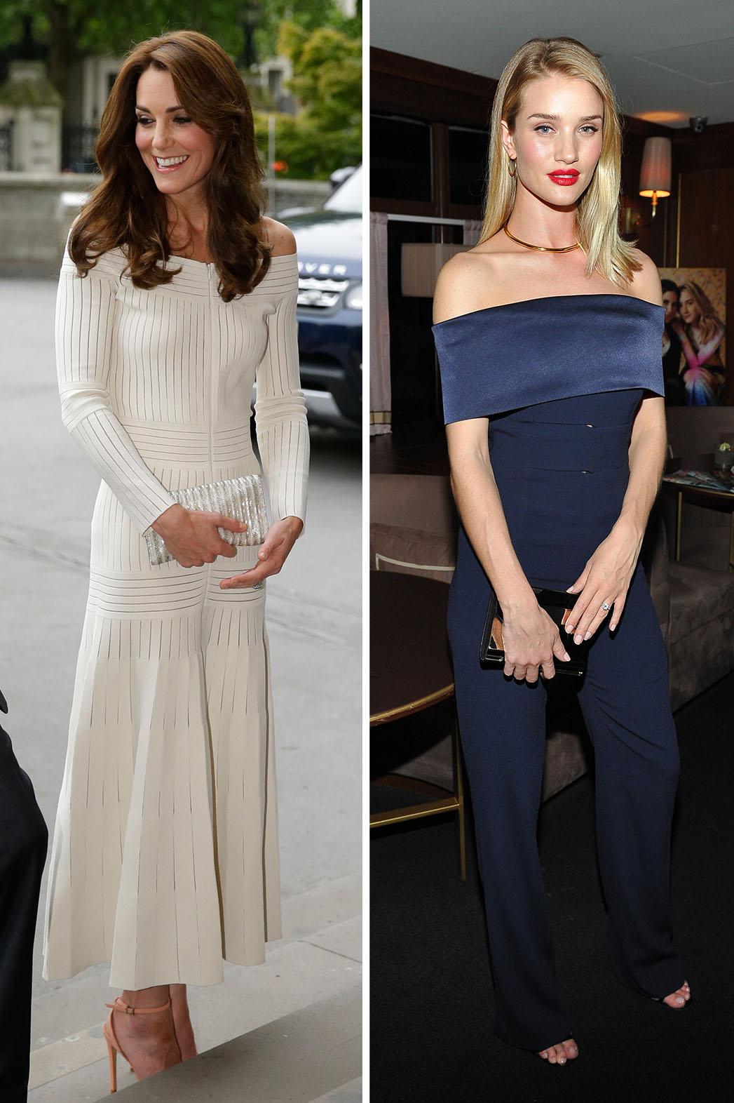 Kate Middleton_Rosie Huntington-Whiteley_Split - Getty - P 2016