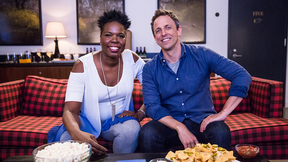 Leslie Jones Seth Meyers H 2016