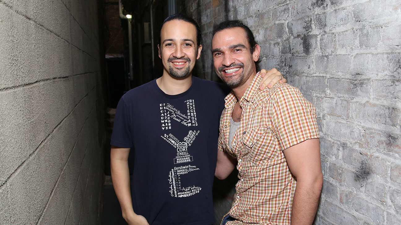 Lin-Manuel Miranda and Javier Munoz - Getty - H 2016