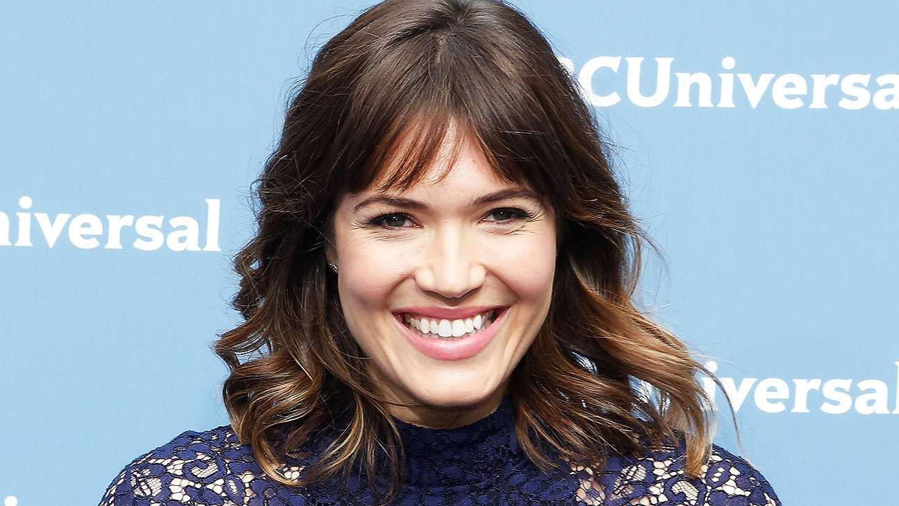 Mandy Moore NBCUniversal Upfront H 2016