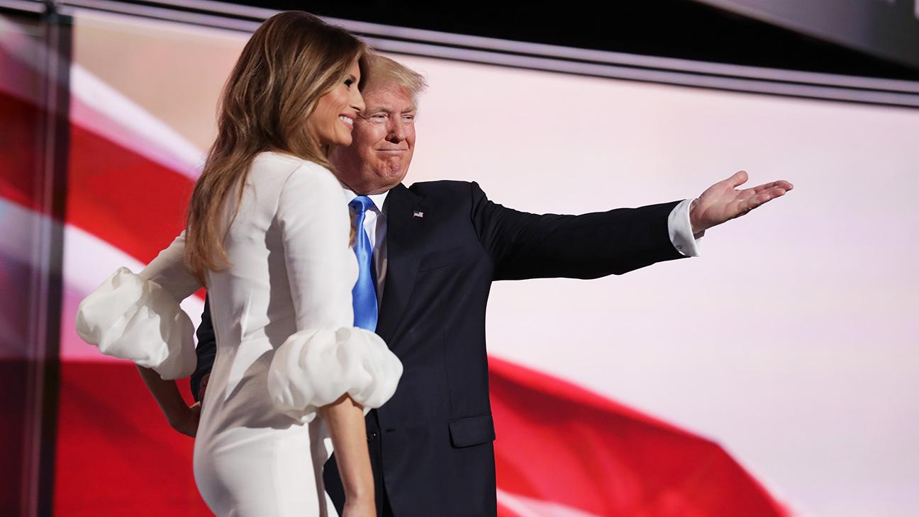 Melania Donald Trump RNC - H 2016