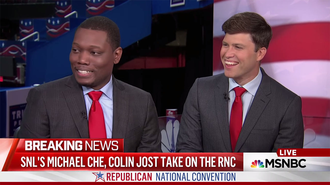 Michael Che Colin Jost RNC Screenshot H 2016