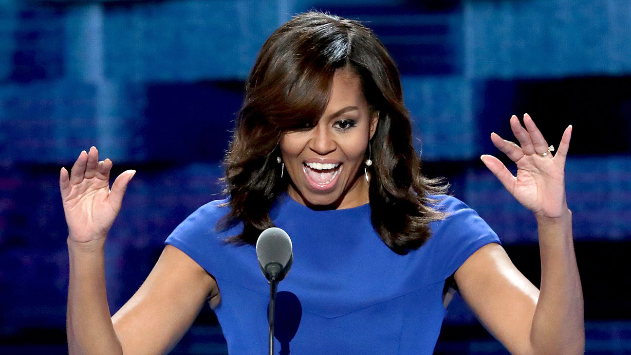Michelle Obama DNC - Getty - H 2016