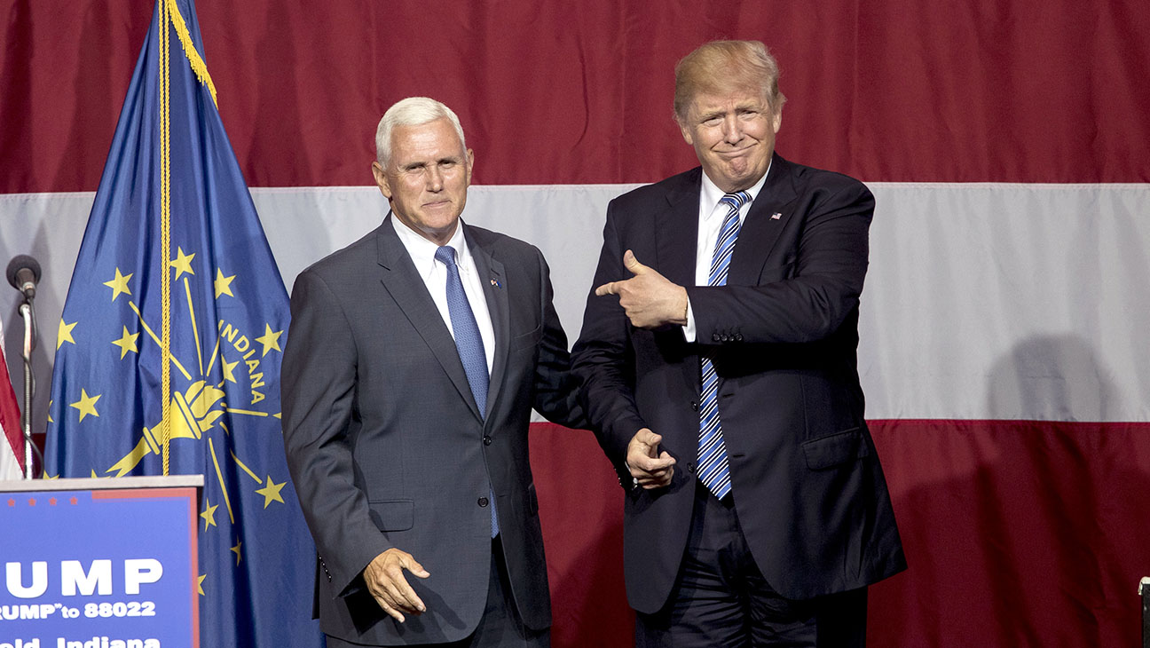 Mike Pence and Trump - Getty - H 2016