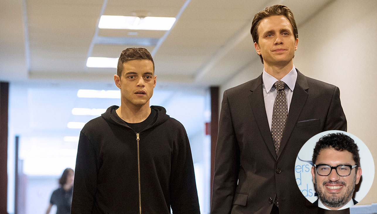Mr Robot Inset Sam Esmail H 2016