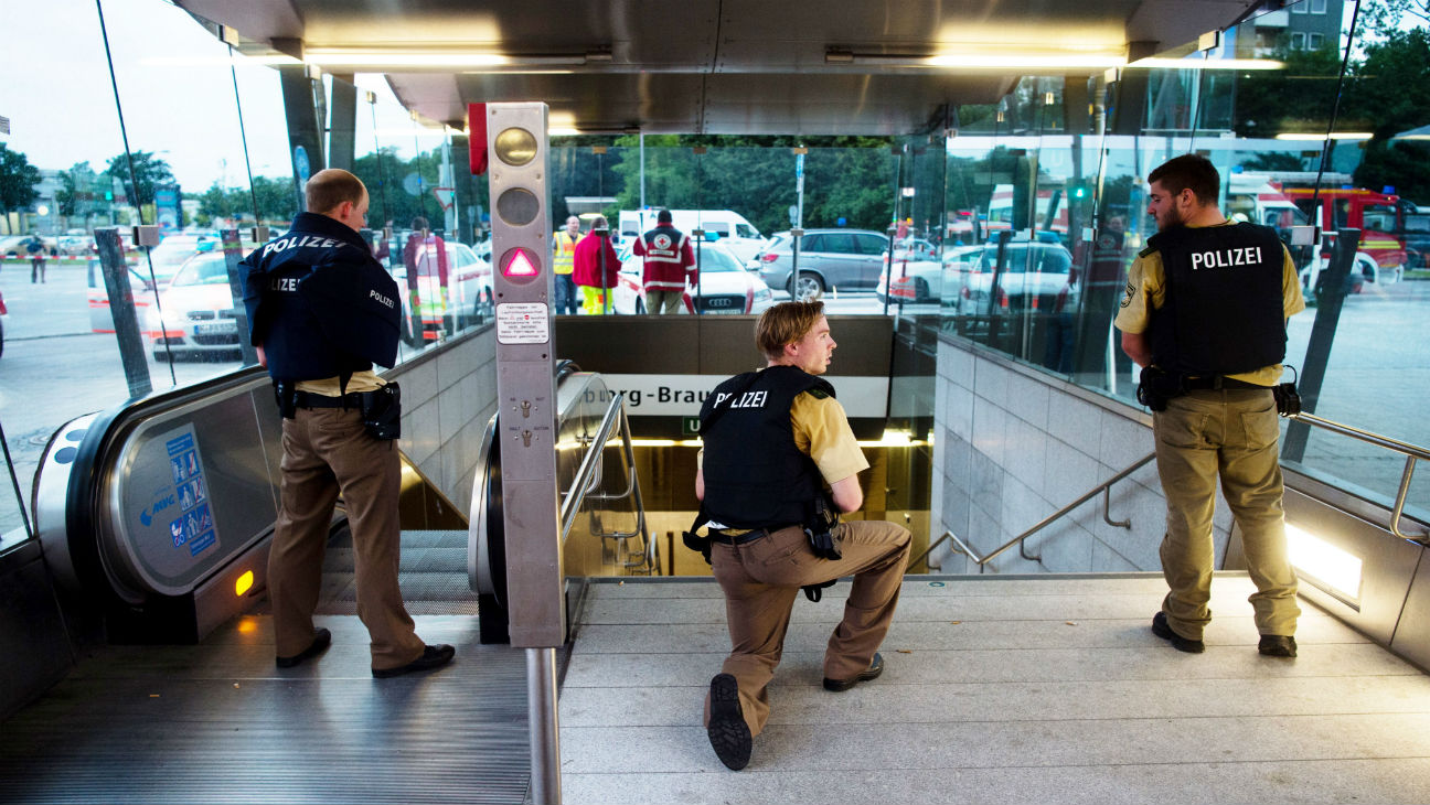 Munich Shopping Mall Shooting