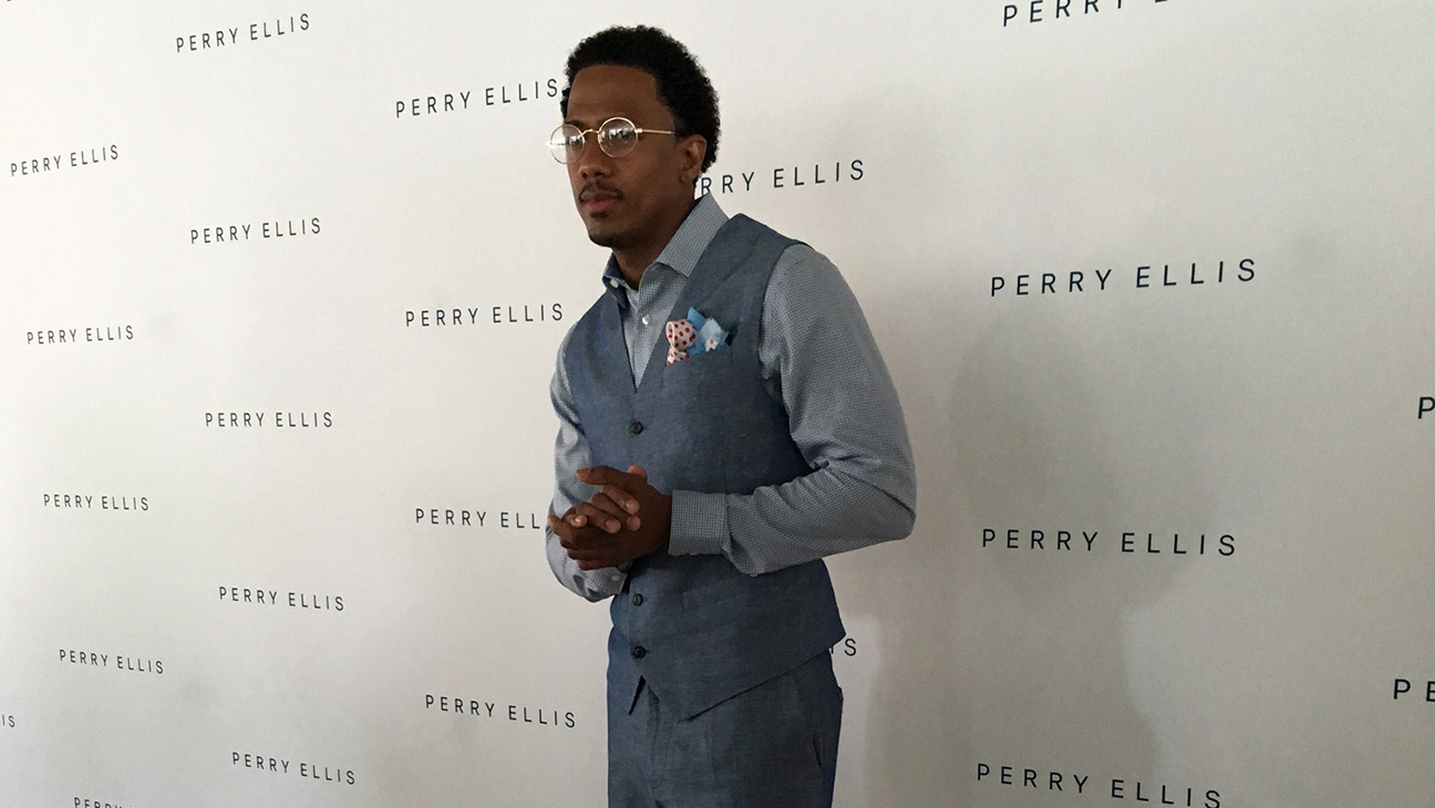 Nick Cannon at Perry Ellis Presentation - H 2016