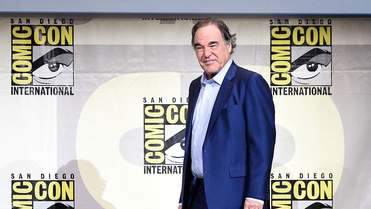 Oliver Stone_Comic Con - Getty - H 2016