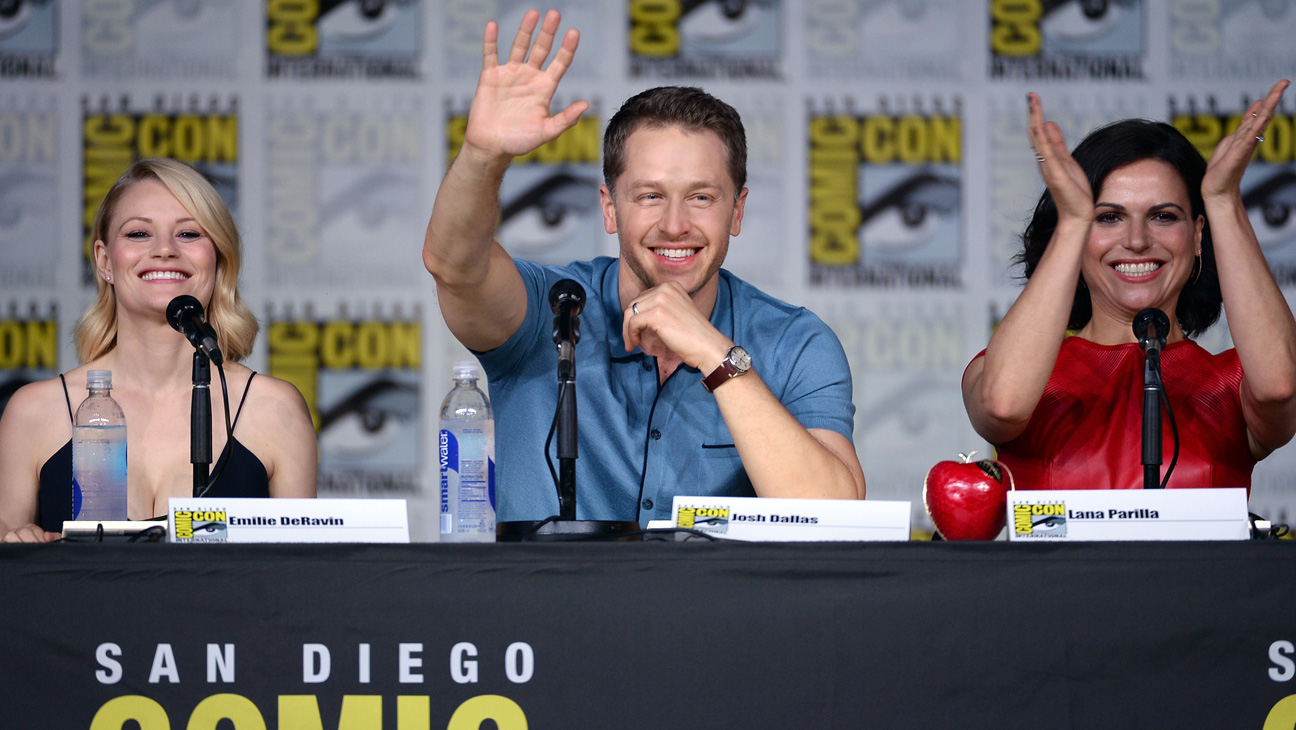 Once Upon A Time - Comic Con Panel - H 2016