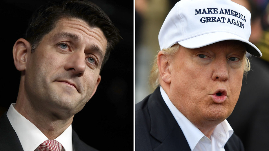 Paul Ryan Donald Trump Split H 2016