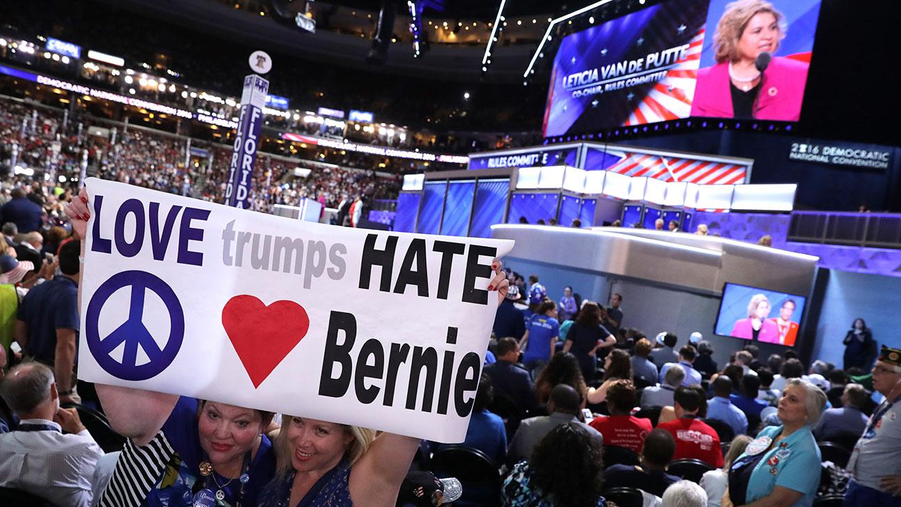 Peace Love Bernie DNC H 2016