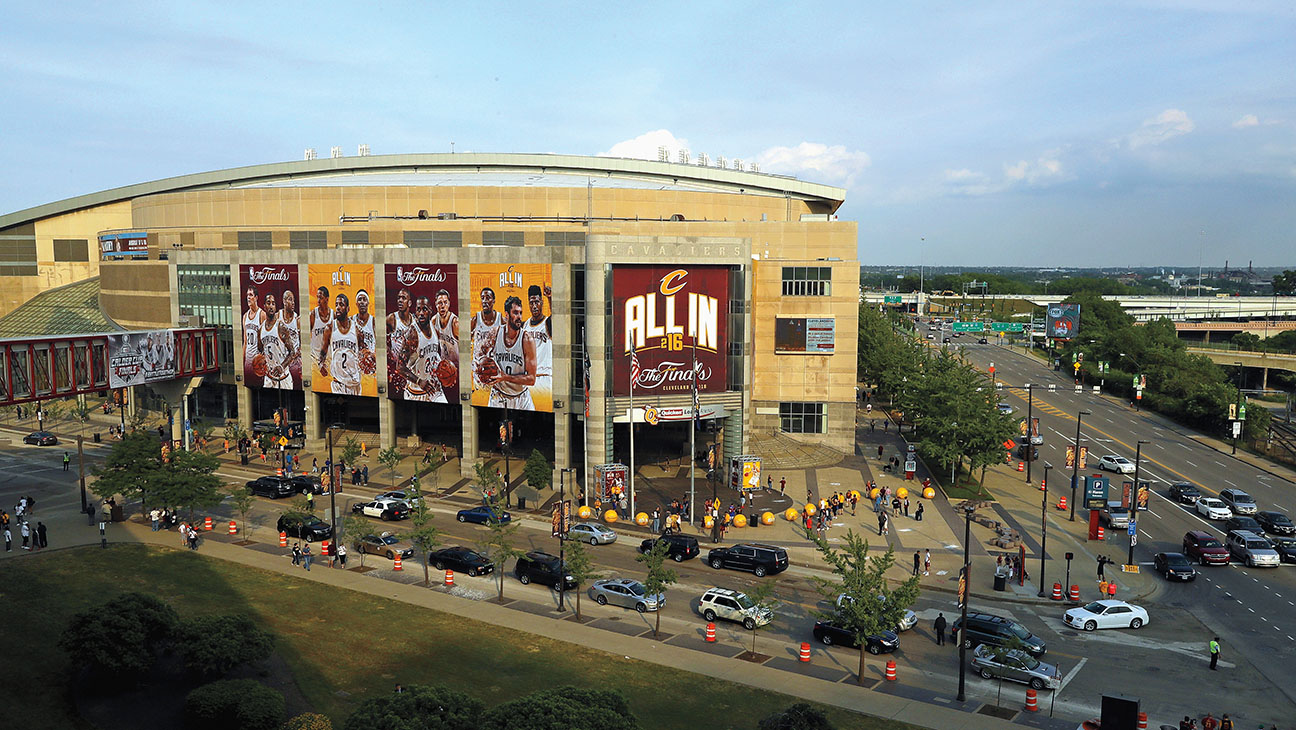 Quicken Loans Arena - Getty - H 2016