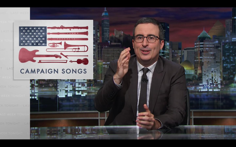 'Last Week Tonight' Campaign Songs - Screengrab - H 2016