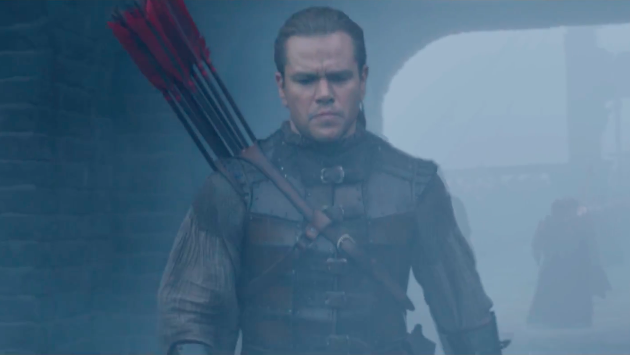 The Great Wall Matt Damon Trailer - H 2016