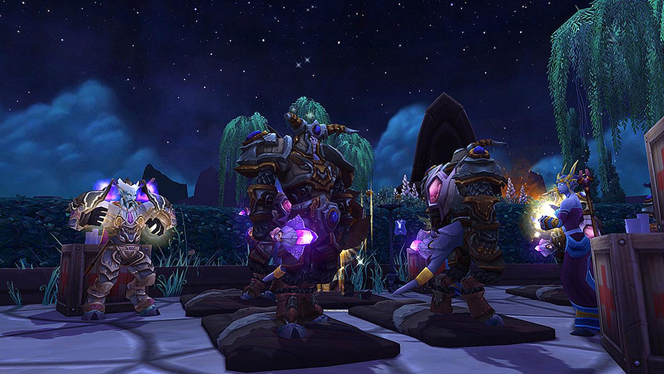 World of Warcraft videogame - Screen Shot-H 2016