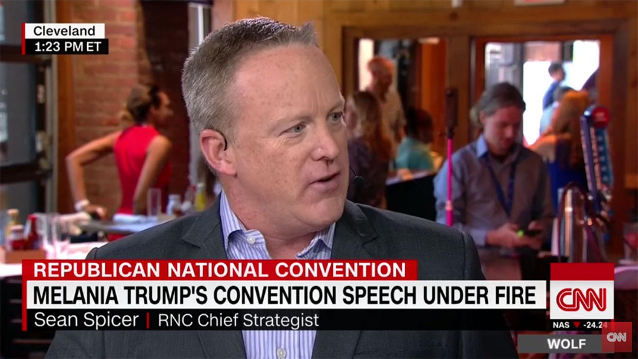 Sean Spicer CNN Screengrab - H 2016