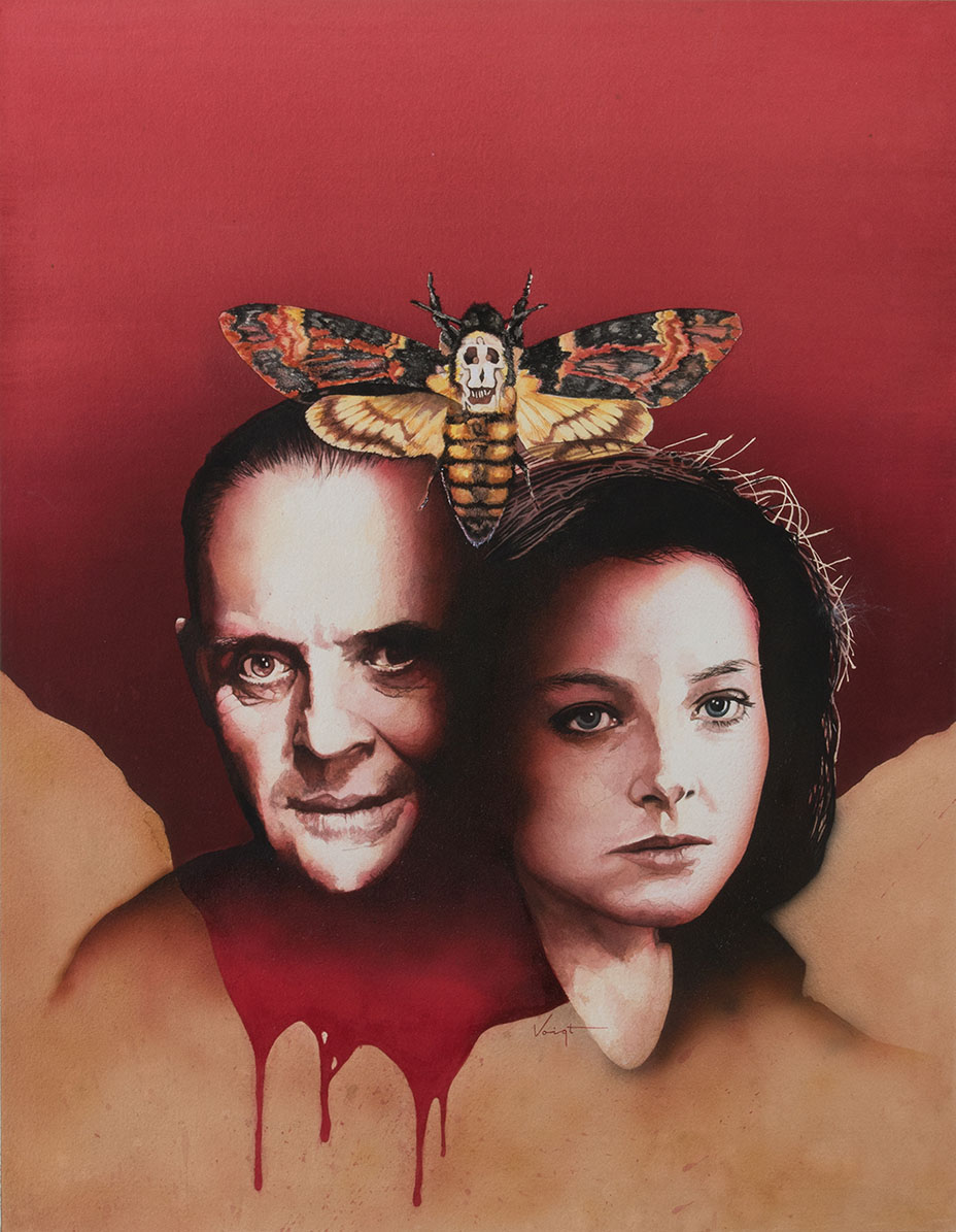 Silence of the Lambs Poster P 2016