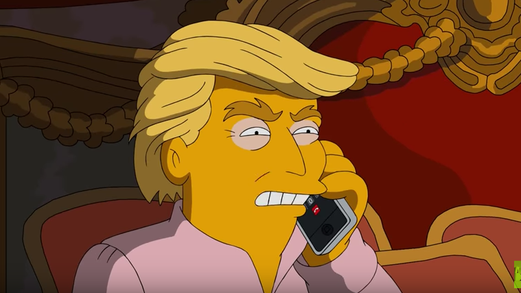 Simpsons Donald Trump - H