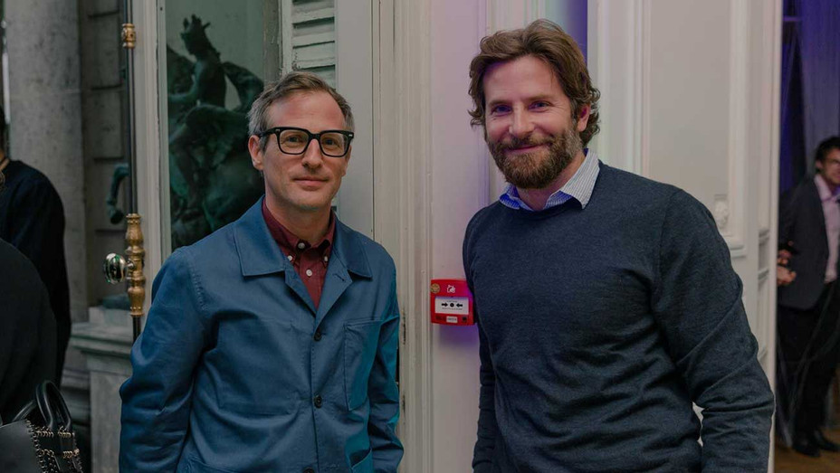 Spike Jonze and Bradley Cooper at Kenzo Parfum Party - H 2016