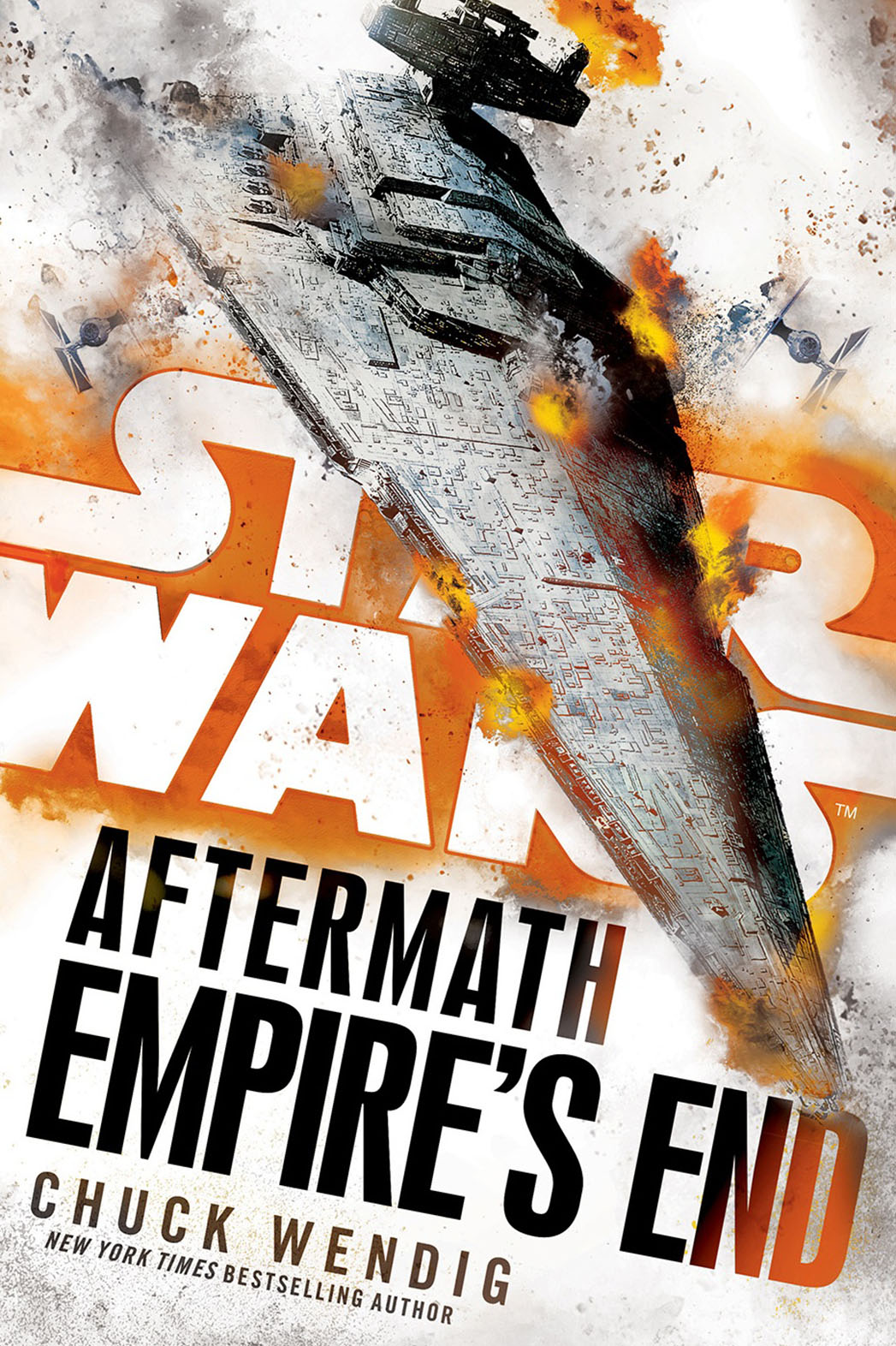 Star Wars Aftermath Empire's End Cover - Publicity - P 2016