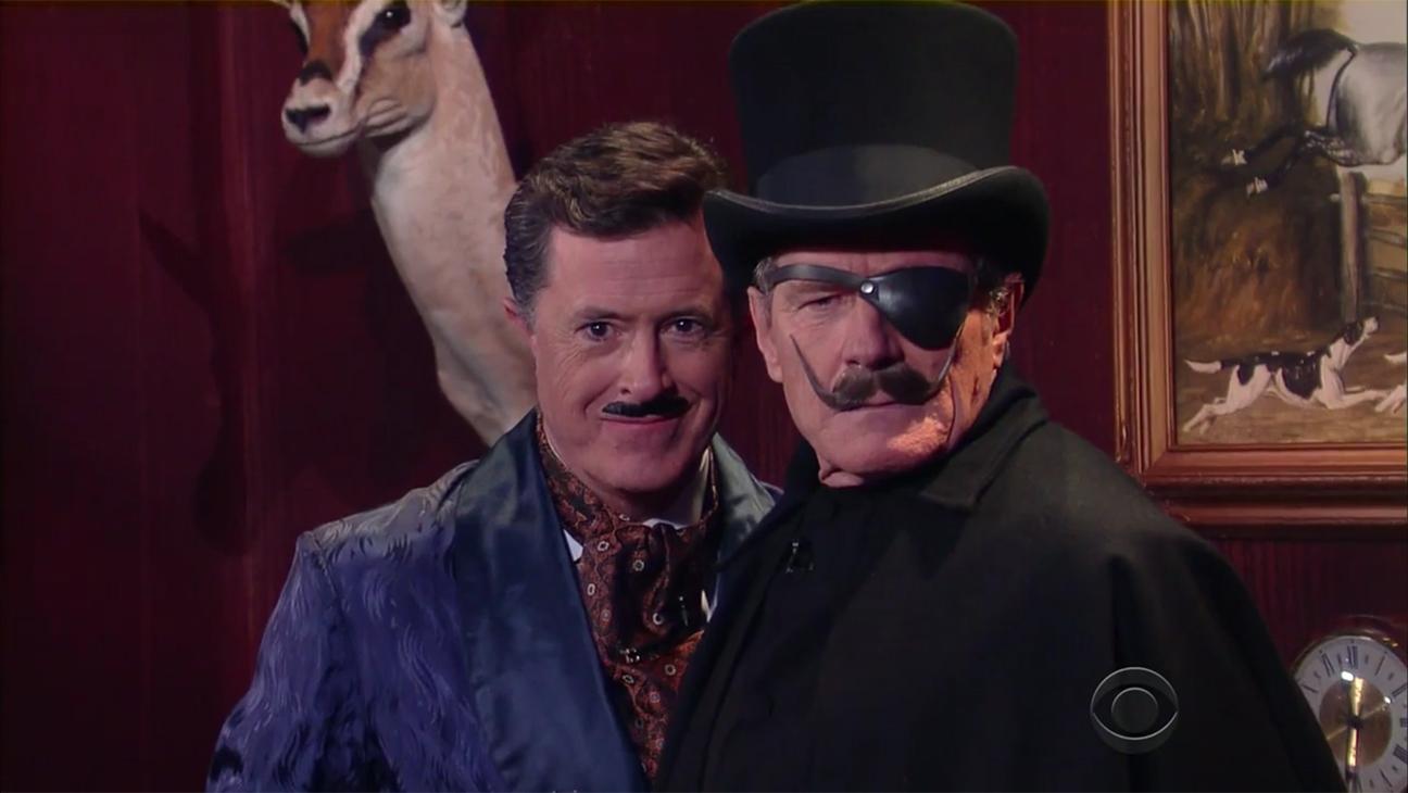 Stephen Colbert Bryan Cranston H 2016
