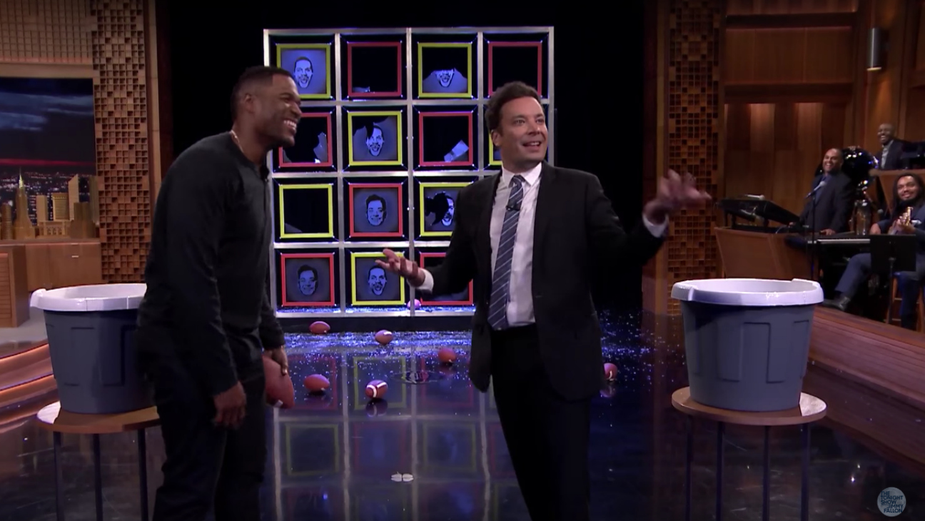 Michael Strahan and Jimmy Fallon — H 2016