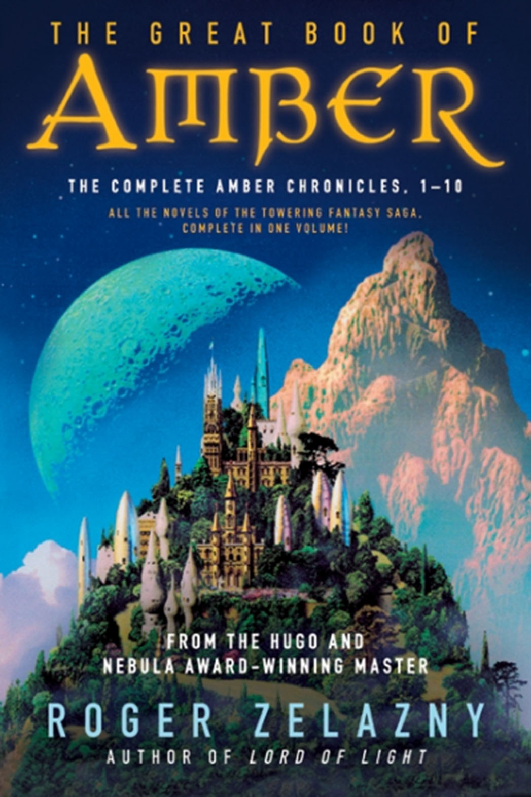 The Great Book of Amber Cover - P 2016