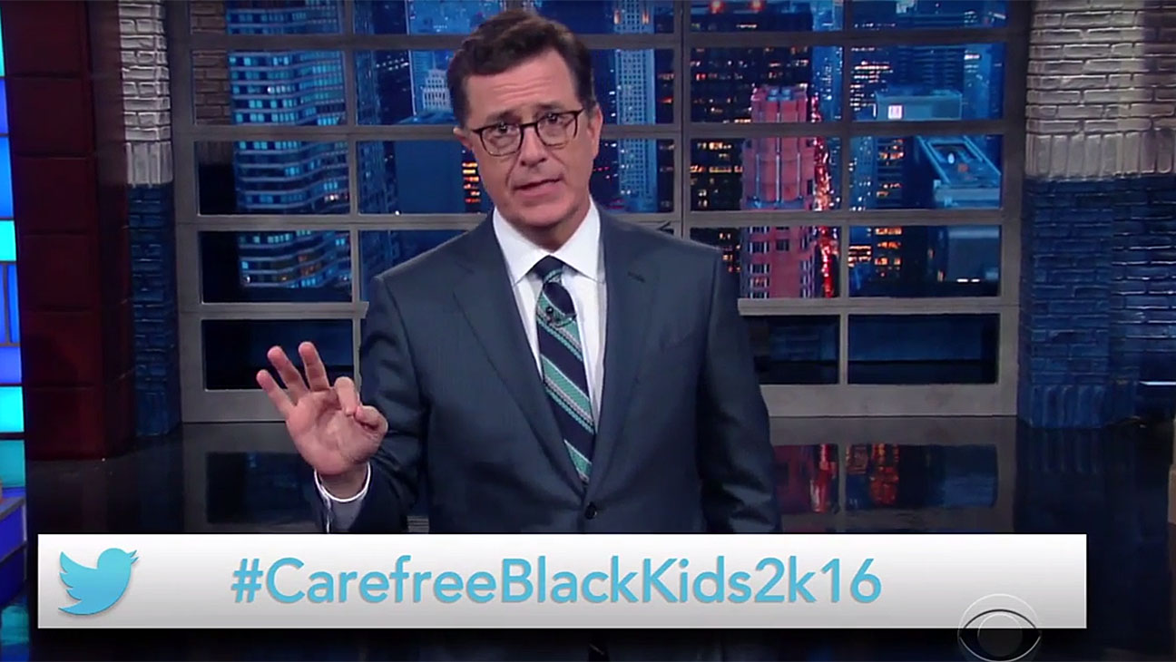 The Late Show_Stephen Colbert_CarefreeBlackKids-Screen Shot-H 2016