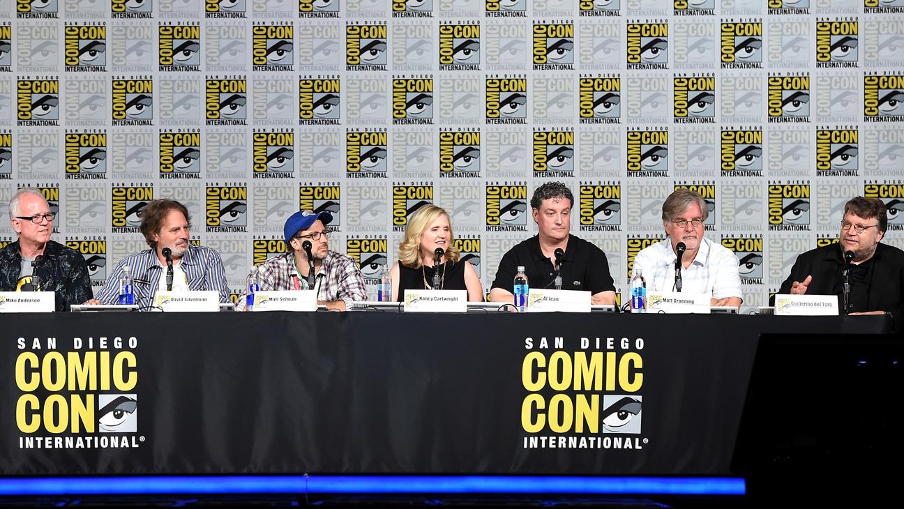 The Simpsons Comic Con Panel - H 2016
