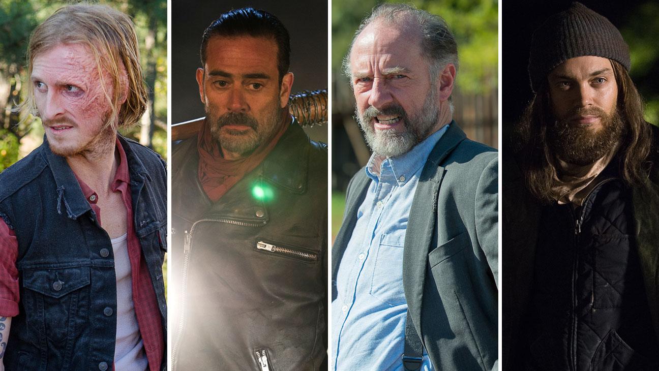 The Walking Dead Austin Amelio Jeffrey Dean Morgan  Xander BerkeleyTom Payne H 2016