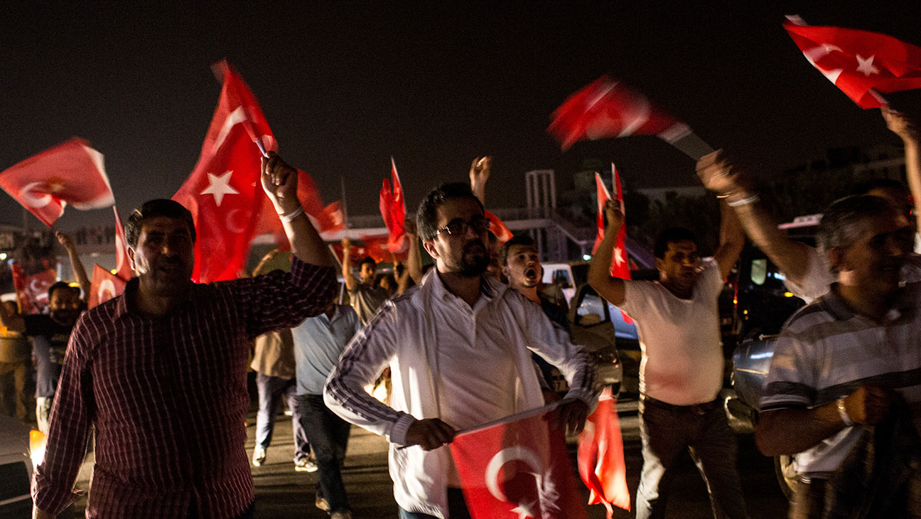 Turkey Coup - Getty - H 2016