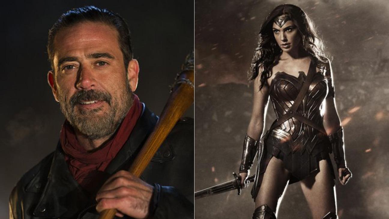 Walking Dead Wonder Woman Comic-Con Winners Losers Split - H Publicity 2016