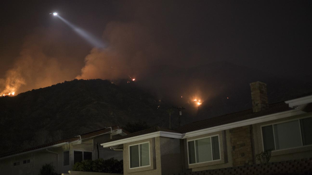 San Bernardino Wildfire - Getty - H 2016
