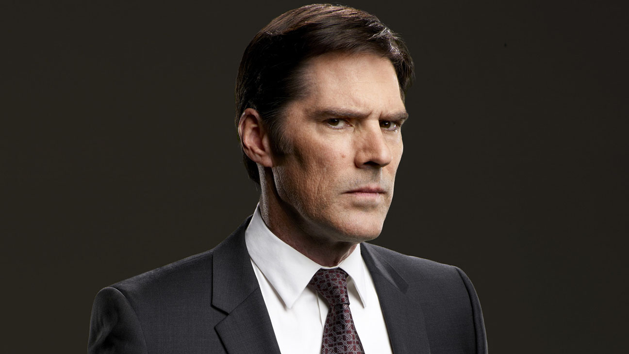 Criminal Minds -Thomas Gibson- Publicity-Stern face-H 2016