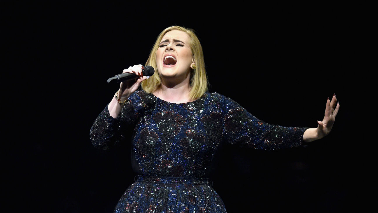 Adele Los Angeles Concert - H 2016