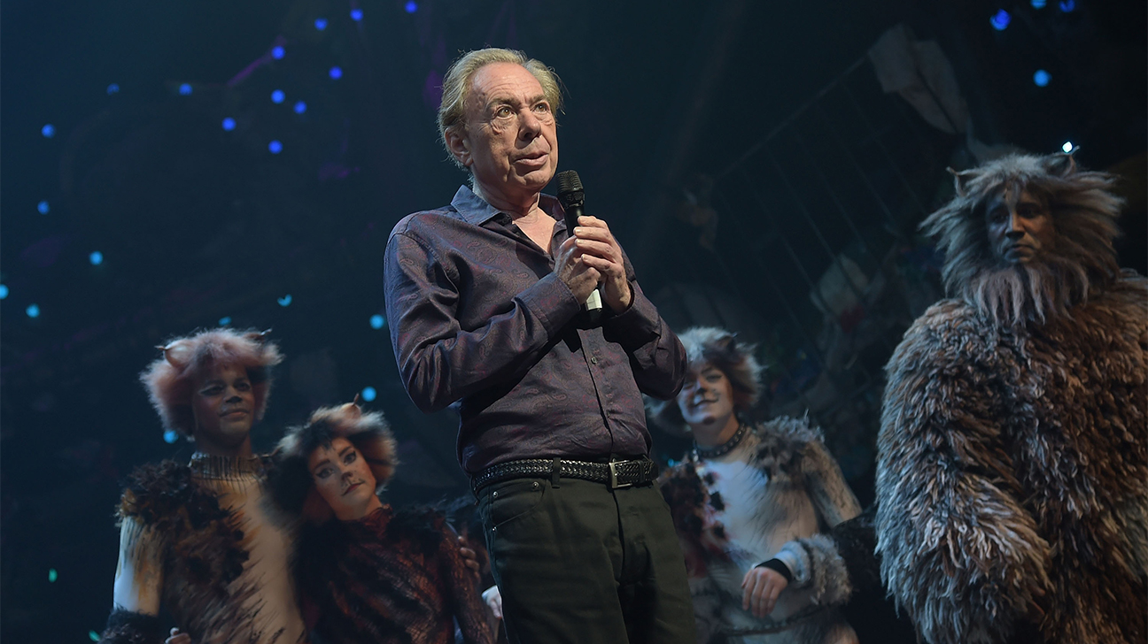 Andrew Lloyd Webber Cats Opening Getty H 2016