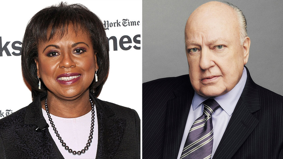 anita hill and roger ailes-Getty-H 2016