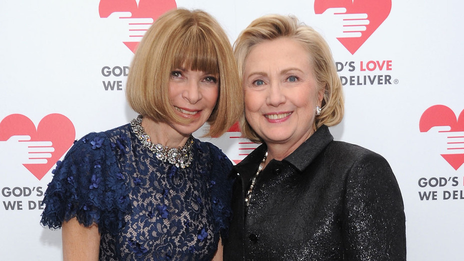 Anna Wintour, Hillary Clinton - Getty - H 2016