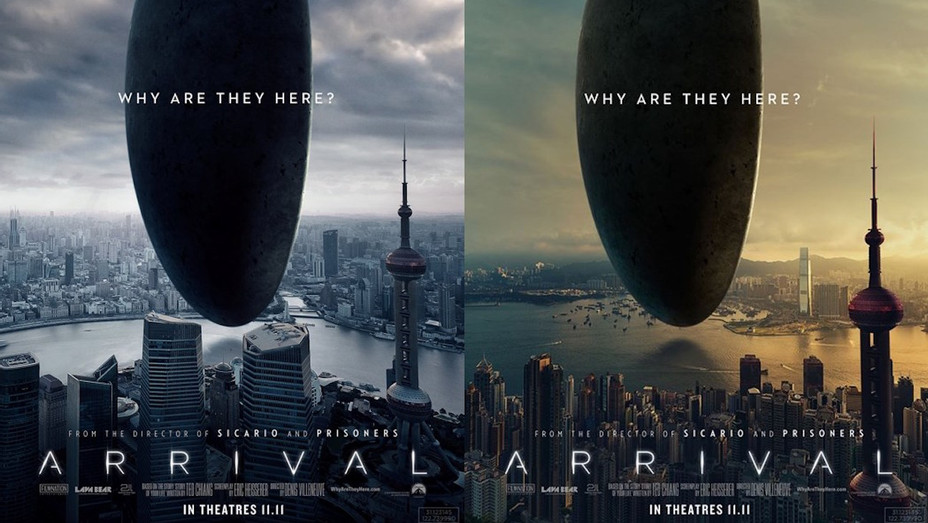 Arrival China Posters - H 2016