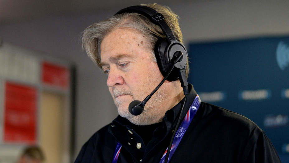Stephen Bannon, Donald Trump Campaign CEO and Breitbart News Executive Chairman - H Getty 2016