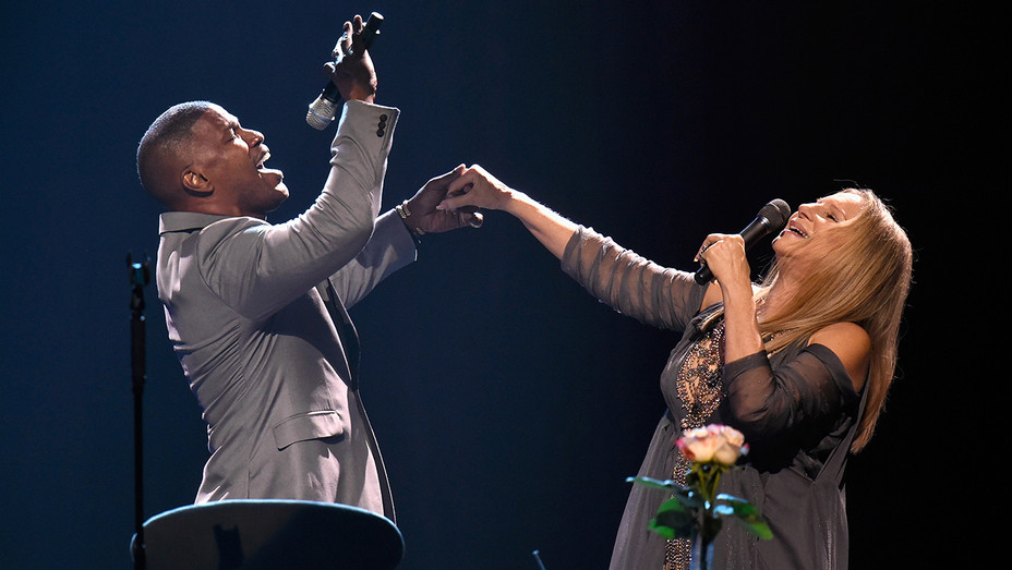Barbra Streisand Jamie Foxx Getty H 2016