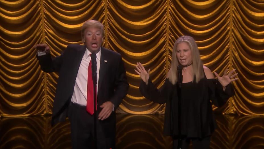 Barbra Streisand and Fallon's Trump Duet — H 2016