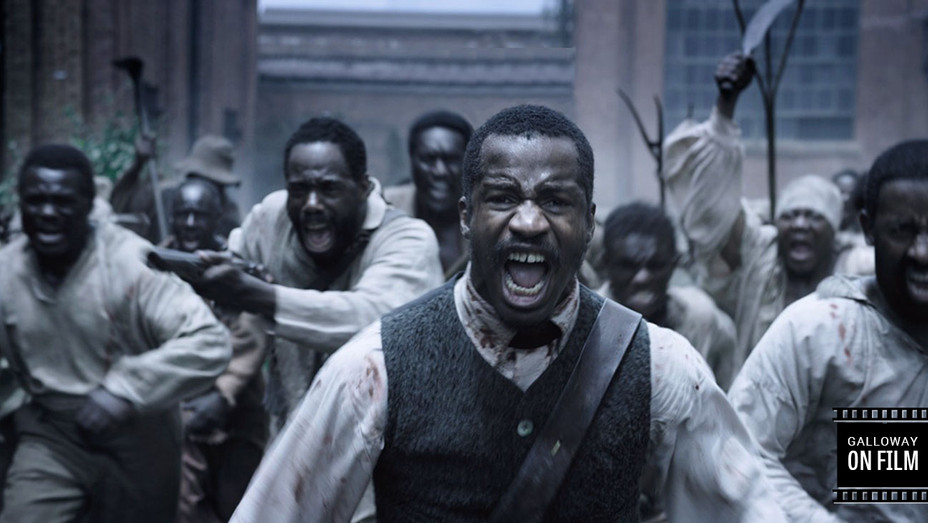 Galloway on Film ONLY - Nate Parker, Birth of a Nation - H Publicity 2016